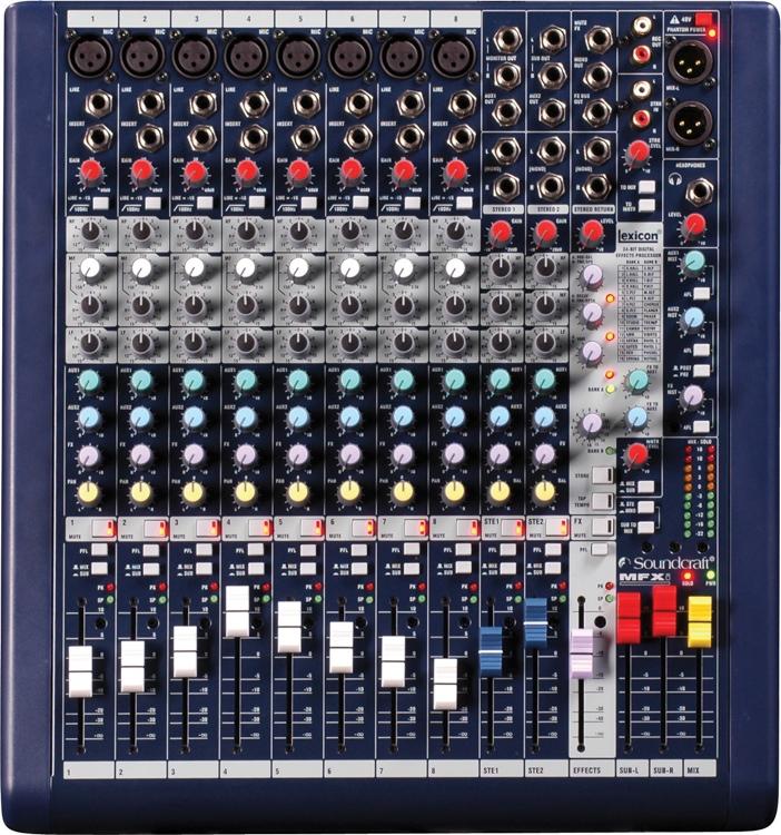 Soundcraft MFXi 8 image 1