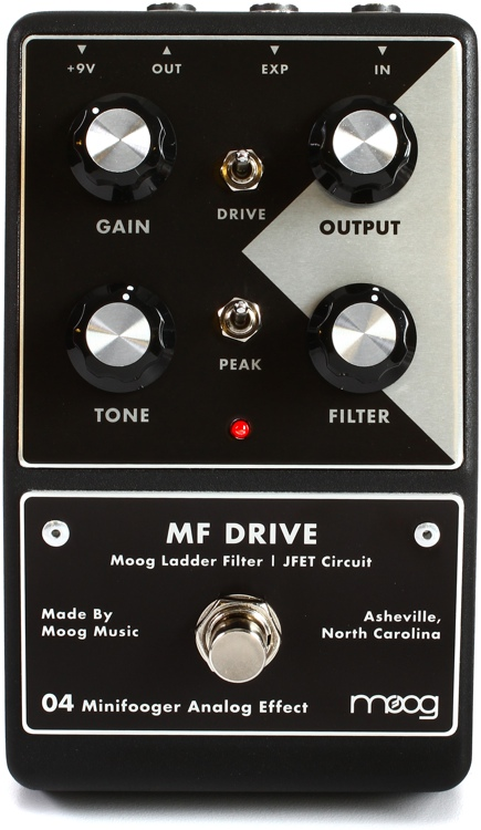 Moog Minifooger Overdrive Pedal image 1