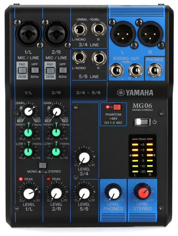 Yamaha MG06 image 1