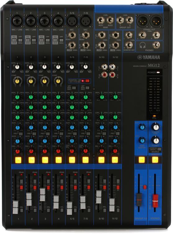 Image result for Yamaha MG 12 Mixer