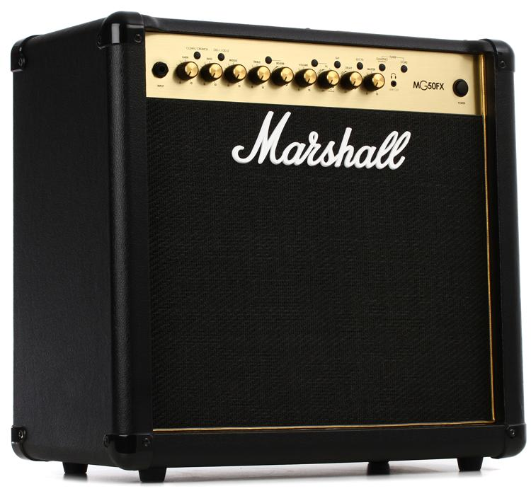 marshall mg50gfx 50 watt 1x12 combo amp w effects sweetwater. Black Bedroom Furniture Sets. Home Design Ideas