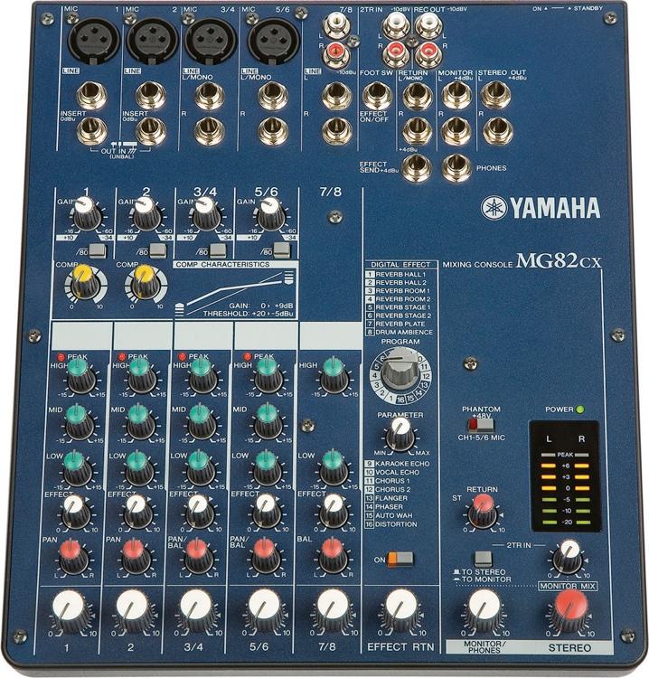 Yamaha MG82cx image 1