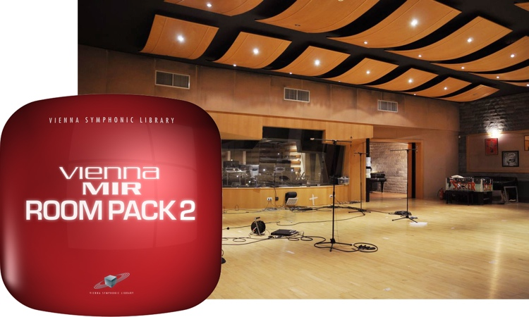 Vienna Symphonic Library MIR RoomPack 2 - Studios & Sound Stages image 1