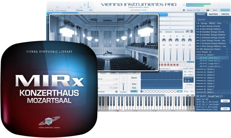 Vienna Symphonic Library MIRx Konzerthaus Mozartsaal image 1