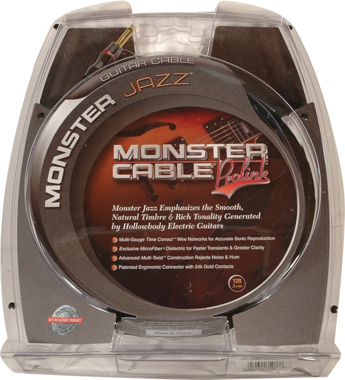 Monster 600176 Jazz Instrument Cable - 12\' image 1