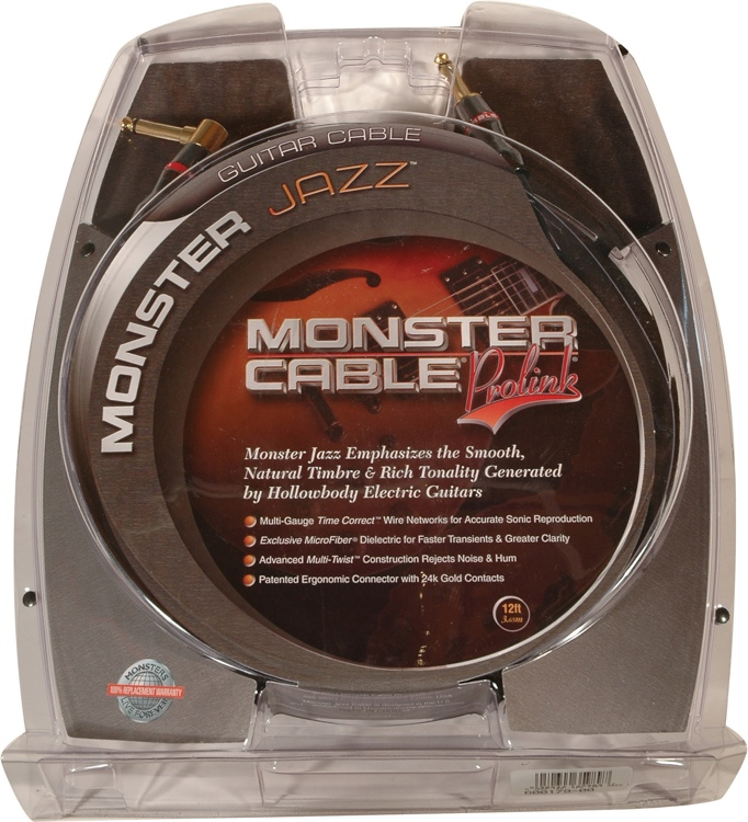Monster 600179 Jazz Instrument Cable - 12\' image 1