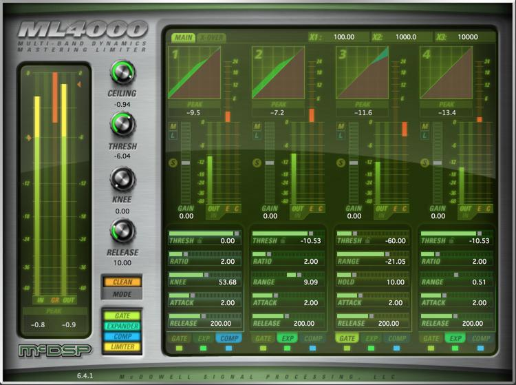 McDSP ML4000 HD v6 Plug-in image 1