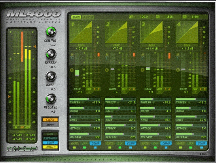 McDSP ML4000 Native v5 Upgrade from ML4000 LE image 1
