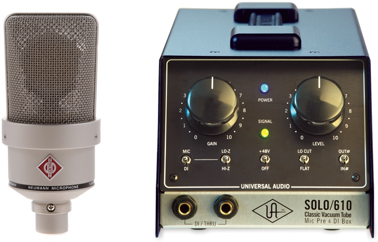 Neumann TLM 103 and SOLO/610 Mic Month Bundle image 1