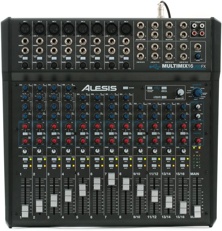 Alesis MultiMix 16 USB FX image 1