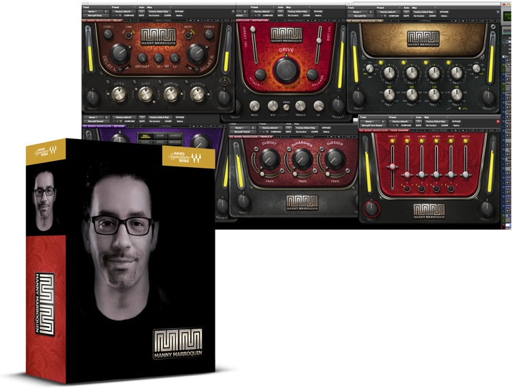 Waves Manny Marroquin Signature Series Plug-in Bundle image 1