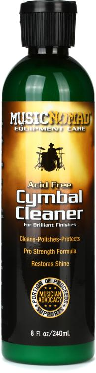 MusicNomad Cymbal Cleaner - Cleans, Polishes & Protects image 1