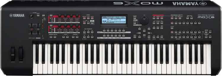 Yamaha MOX6 61-key Synthesizer Workstation image 1