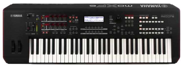 Yamaha MOXF6 61-key Synthesizer Workstation image 1