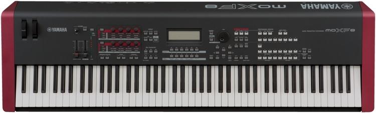 Yamaha MOXF8 88-key Synthesizer Workstation image 1