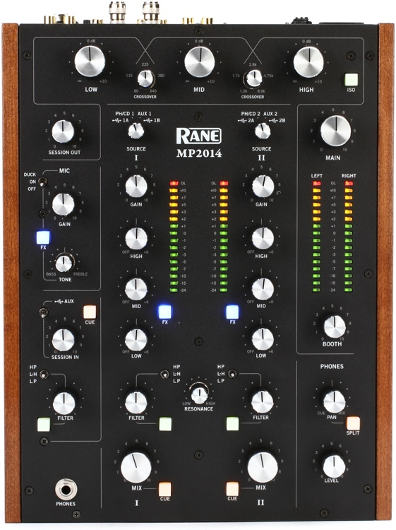 Rane MP2014 2-channel Rotary Mixer image 1