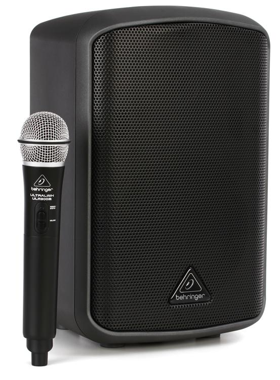 Behringer Europort MPA 100BT 100W Speaker with Microphone image 1