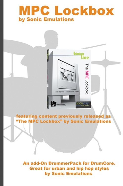Sonoma Wire Works DrummerPack Expansion - MPC Lockbox image 1