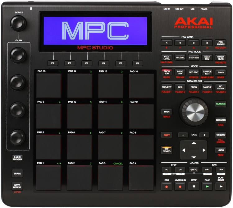 AKAI MPC STUDIO DRIVER FOR WINDOWS DOWNLOAD