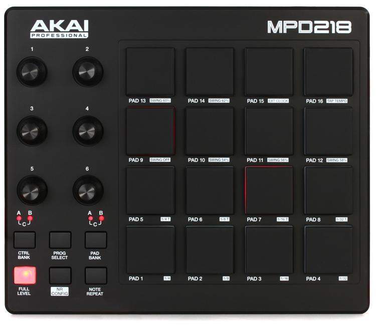 Akai Professional MPD218 Pad Controller image 1