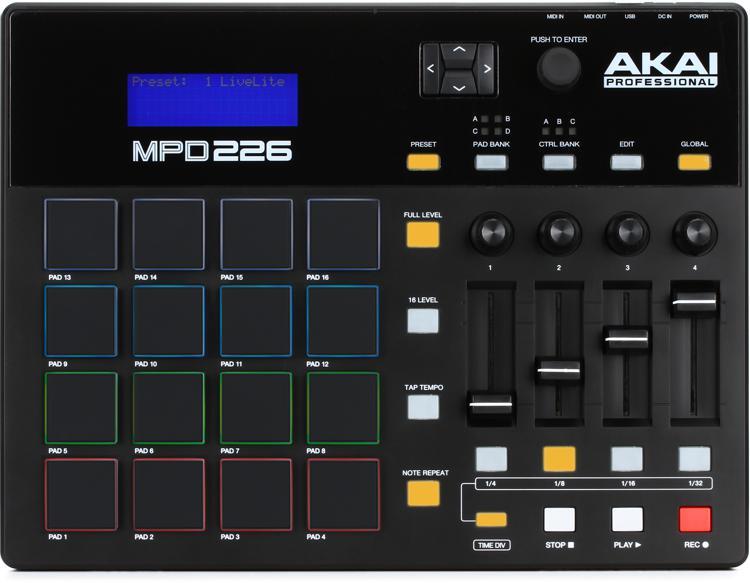 Akai Professional MPD226 Pad Controller image 1