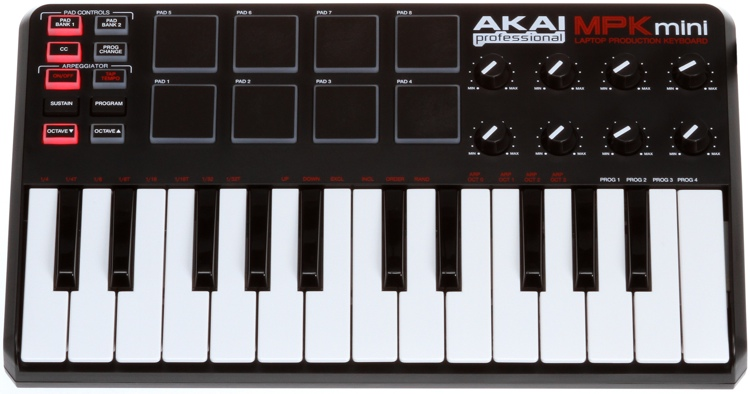 Akai Professional MPK Mini Compact 25-key Keyboard Controller image 1