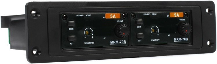 MIPRO MRM-72B Plug-in UHF Dual Receiver - Band 5A image 1