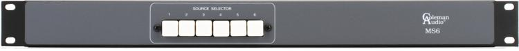 Coleman Audio MS6 Auxiliary Switcher image 1