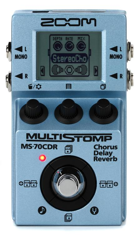 Zoom MS-70CDR MultiStomp Chorus/Delay/Reverb image 1