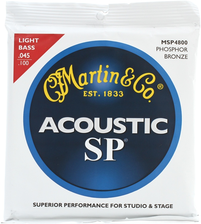 Martin MSP-4800 SP - 92/8 Light Acoustic Bass Strings image 1