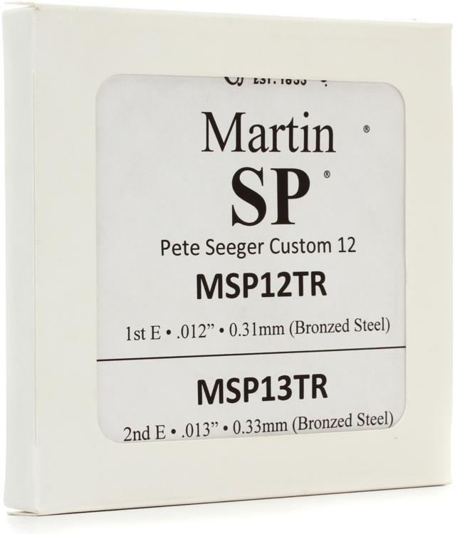 Martin MSP7750 SP Lifespan - 92/8 Phosphor Bronze 12-str Baritone Acoustic Strings image 1