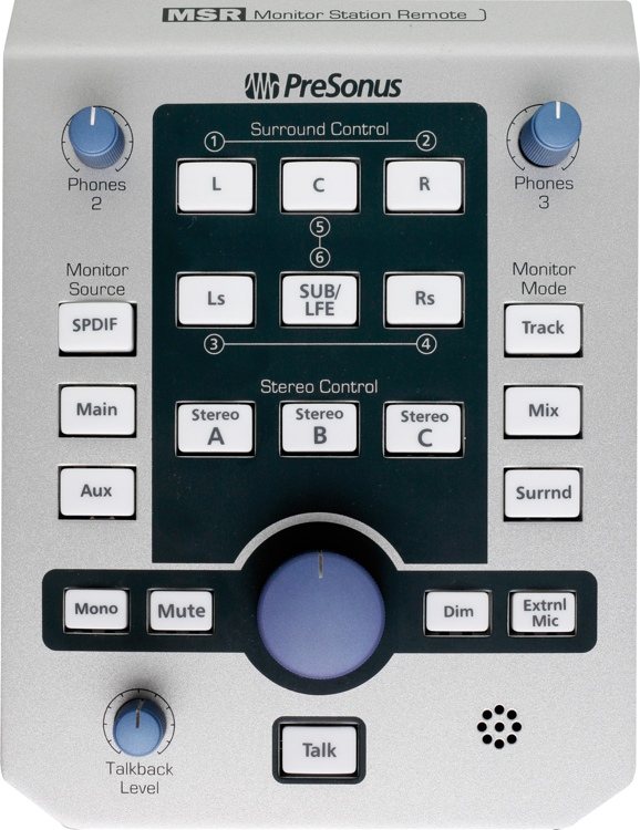PreSonus MSR Monitor Station Remote for FireStudio image 1