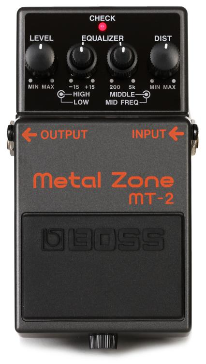 Boss Mt 2 Metal Zone Distortion Pedal Sweetwater