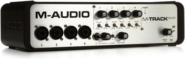 M-Audio M-Track Quad image 1