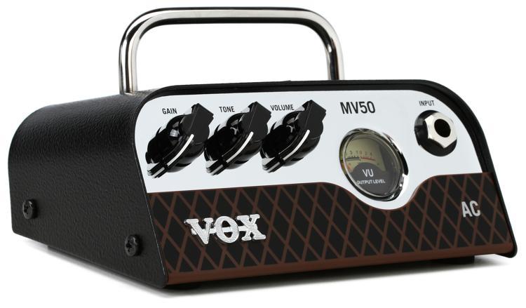 Vox MV50 AC 50-watt Hybrid Tube Head image 1