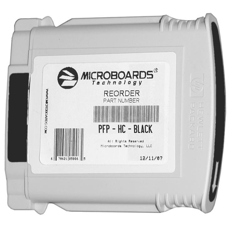Microboards PFP-HC-BLACK image 1