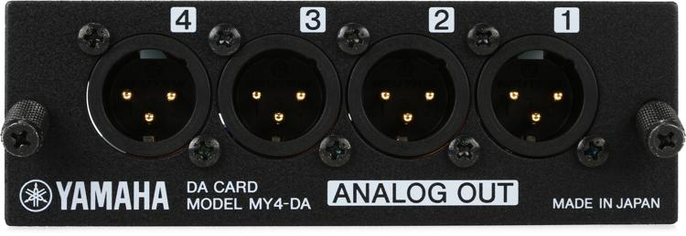 Yamaha MY4DA 4-channel Analog Output Card image 1
