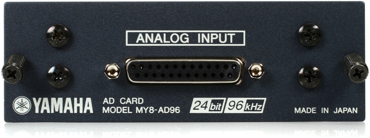 Yamaha MY8AD96 8-channel 96kHz Analog Input Card image 1