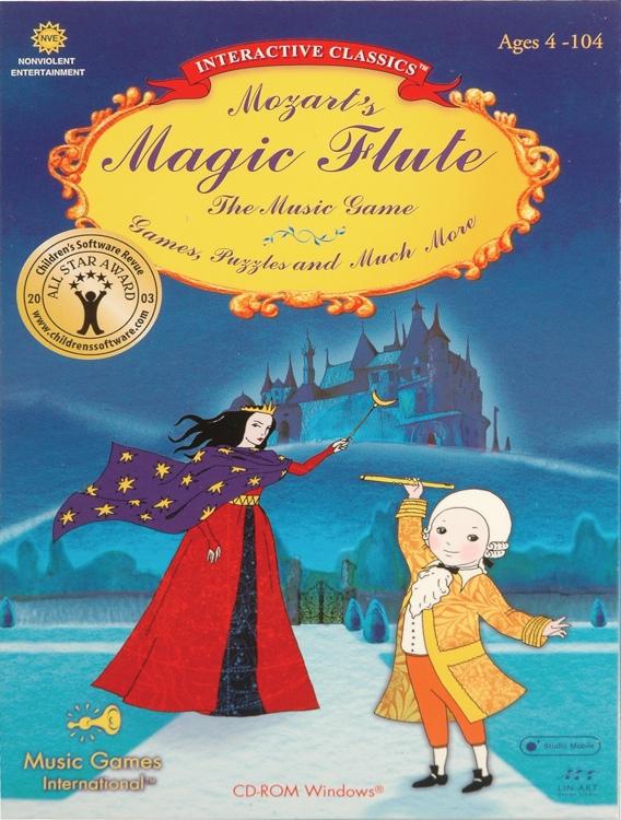Music Games International Mozart\'s Magic Flute image 1