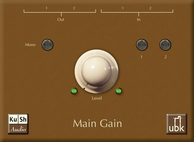 KuSh Audio UBK Main Gain image 1