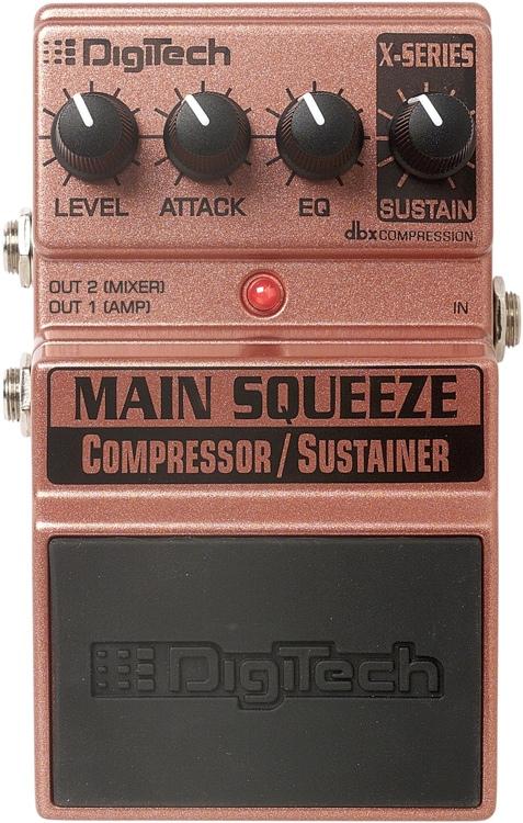 DigiTech Main Squeeze Compressor/Sustainer Pedal image 1