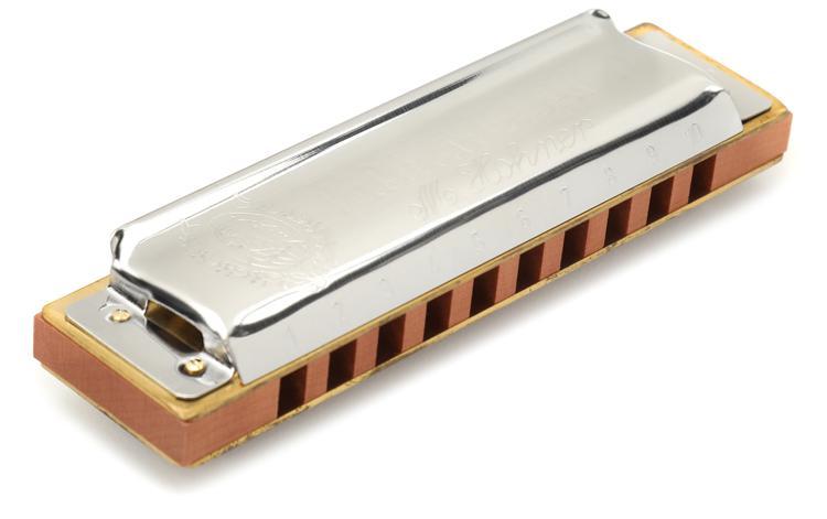 Hohner Marine Band - Key of B Flat image 1