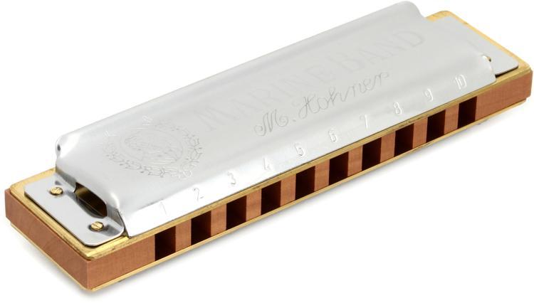 Hohner Marine Band - Key of D image 1