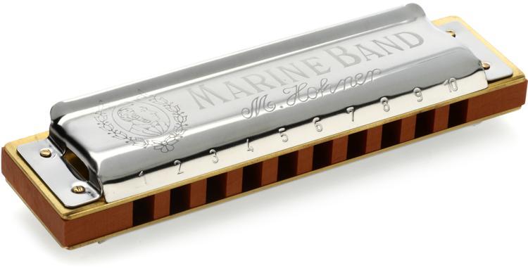 Hohner Marine Band - Key of F Sharp image 1