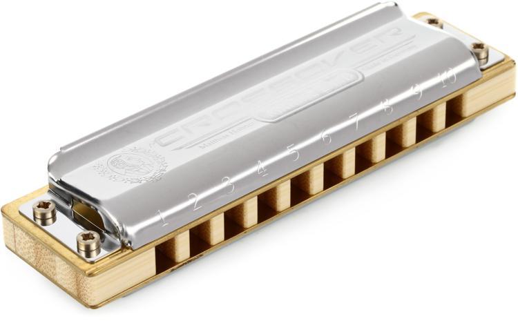 Hohner Marine Band Crossover - Key of B Flat image 1