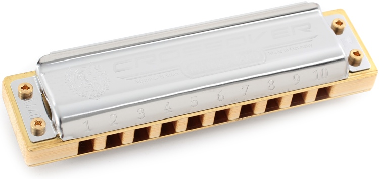 Hohner Marine Band Crossover - Key of F Sharp image 1
