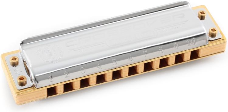 Hohner Marine Band Crossover - Key of G Sharp image 1