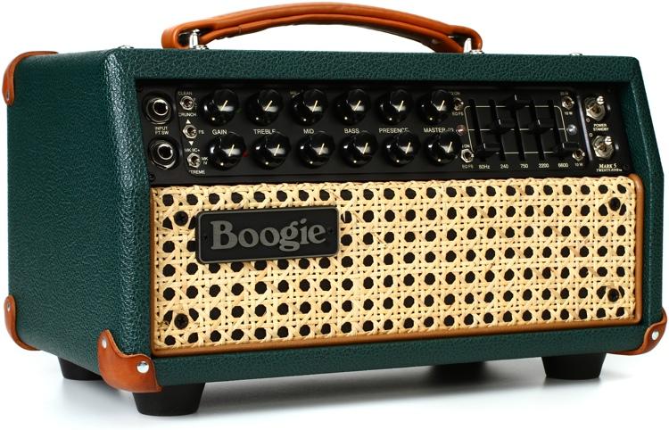 Mesa/Boogie Mark Five:25 - 25/10-watt Tube Head - Emerald Green with Wicker Grille image 1
