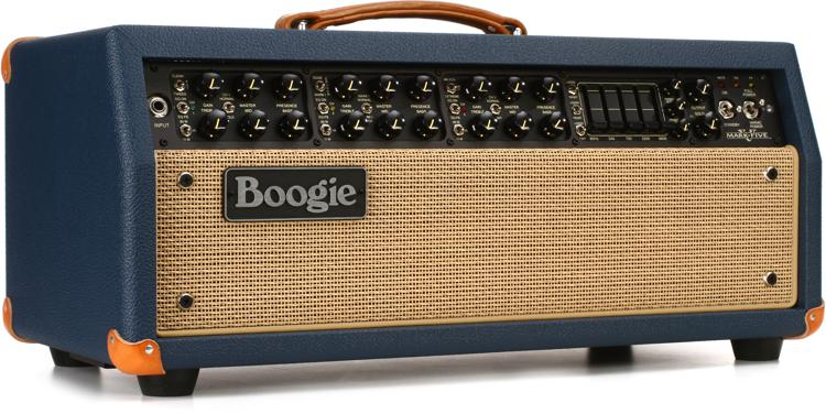 Mesa/Boogie Mark V 90W Tube Head - Blue Bronco w/ Tan Grille image 1