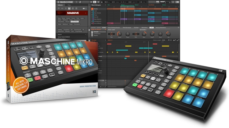 Native Instruments Maschine Mikro - Black image 1